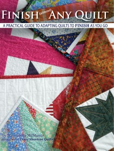 book cover Finish (almost) any Quilt